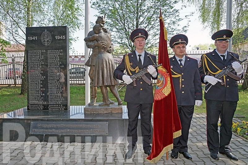 Управление полиции приглашает ветеранов органов внутренних дел на митинг ко Дню Победы