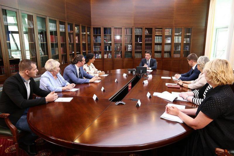 Губернатор Московской области Андрей Воробьев взял ситуацию с возгоранием в Мытищах под личный контроль