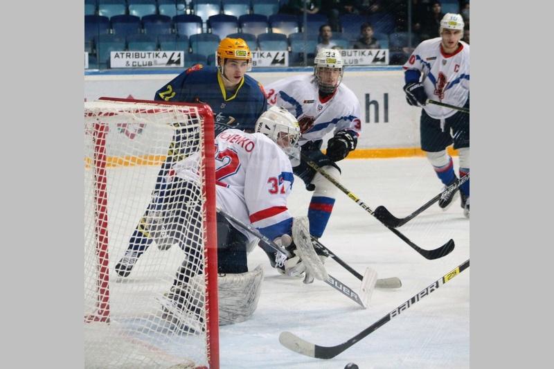 Мытищинские хоккеисты обыграли молодежку клуба «ОЭРДЖИ Юниор» на льду «Арены Мытищи»
