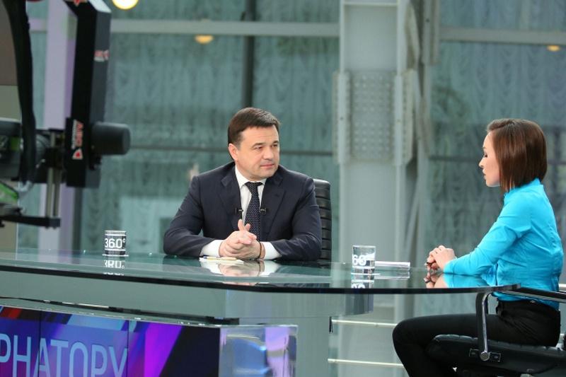 Губернатор Московской области в телеэфире подведет итоги июля и ответит на вопросы жителей