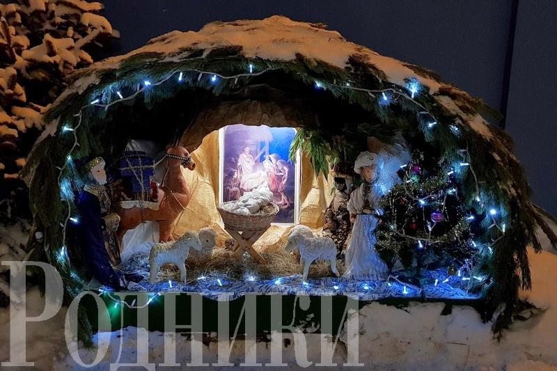 Благочинный церквей Мытищ Дмитрий Оловянников поздравил горожан с Рождеством Христовым
