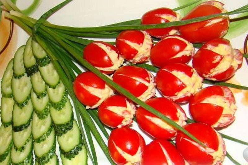 Рецепты на каждый день: весенний салат «В тюльпане»